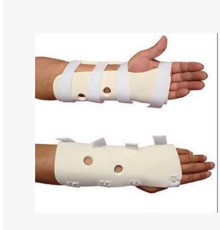 health care edical polymer support flexible bone wrist brace overturned on a flexible bone orthosis(China (Mainland))
