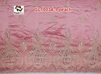 FREE SHIPPING indian george fabric/george wrapper (GL10034-1)