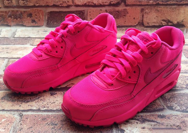 air max rosa neon