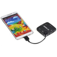 Card Reader USB 3.0 Host Adapter OTG Cable SDHC Hub for Samsung Galaxy S5 Note 3
