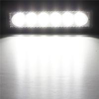 18W 6 LED Work Light Daytime Running Driving DRL Fog Lamp DC 10-30V