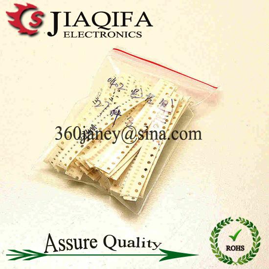 SMD 0402 Chip Capacitor Assorted Kit, Sample bag 0.5P~10UF 27ValuesX20PCS=540PCS(China (Mainland))
