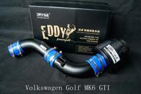 EDDY-POWER High Performance Carbon Fiber Air Intake Kit For VW Volkswagen Golf GTI (2008-2012) 2.0T
