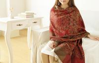 New Fashion Thick Wool Scarf For Ladies Neckwarm Floss Women Scarf Shawl  Wool Pashmina Women Winter Scarf