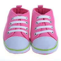 1Pair Infant Toddler Children's Baby Shoes Boy Girl Soft Sole Crib Shoes First Walkers Sneaker 0-12Months 3 Sizes