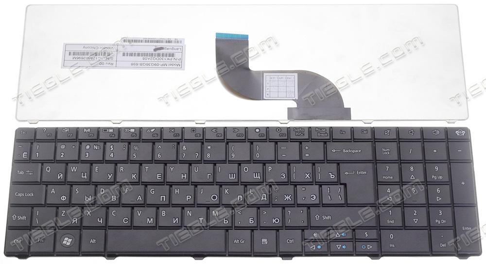 Клавиатура для ноутбука For Packard Bell EasyNote mp/09g33su/6982 mp/09g33su/6982w PK130QG1A04 PK130QG1B04 nk.i1713.048 nk.i1717.01g nsk/aue0r Z5WT1 ноутбук packard bell easynote te