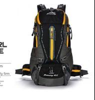 Best External Frame Waterproof Hiking BACKPACK Sports Wholesale polyester custom hiking backpack for traveling