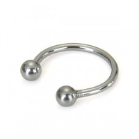Free Shipping 100PCS Lip Eyebrow Ring Circular Horseshoe Bar 16g 1.2mm new