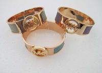 Fashion bracelet women bangle jewelry SY011 18K Gold Plated Cheap Gift Free shipping
