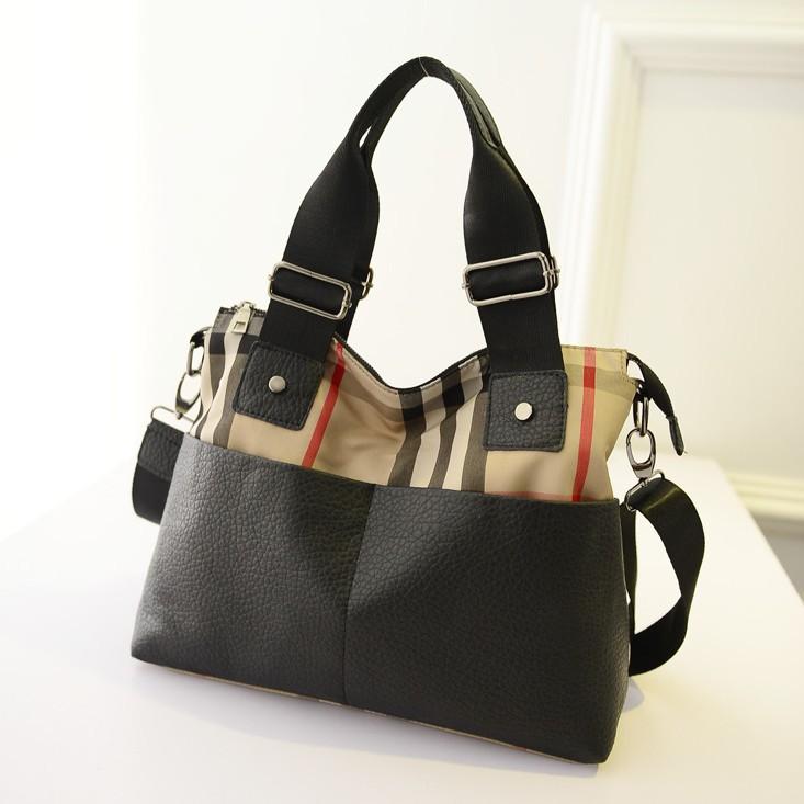 women bag Female bag fashion handbag of new fund of 2014 autumn winters is recreational the package Nylon single shoulder bag(China (Mainland))