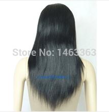 t121 livre shipping100% índia peruca de cabelo humano peruca cheia do laço reta cabelo de 26 polegadas(China (Mainland))