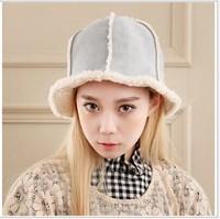 2014 newest winter fashion cap furry bonnet hex cap warm hat 6 panel cap