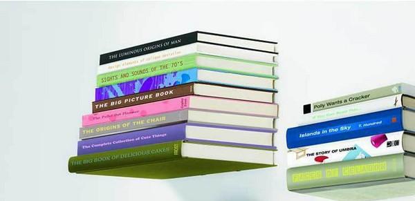 Creative Shelf Conceal Bookshelf Hidden Wall Floating Holder Invisible Book Shelf Small(China (Mainland))