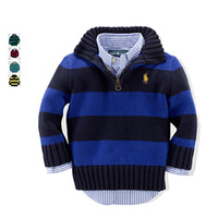 2014 autumn 5color kids sweater,children wear Half-Zip Mockneck Pullover sweater coat Unisex brand ashmere cardigans sweaters
