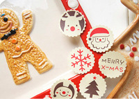 1200pcs/lot Zakka Snowman Christmas elk DIY seal sticker/ medal Decorative paper sticker for Gift Packing/ cute label/ Wholesale