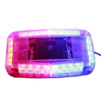 238H 24LED 1W High Power Lamp Beads Short Row Alarm Lamp  Eight Kinds of Flash Flashes Falun Change,Car Strobe Light.