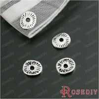 Wholesale 6*5mm Antique Silver Round Alloy Spacer Diy Jewelry Findings Accessories 200 Pieces(JM6214)