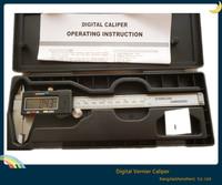 "Hot !  150mm Stainless Steel Electronic LCD Digital Vernier Caliper Gauge Micrometer Ruler 6"" Depth Measurement Measuring Tool"