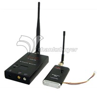 MK 1.2G 1.5W FPV TX RX 15CH Wireless Audio Video Transmission Monitor for FPV Photography
