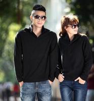 2014 new fashion for men and women fleece sweater, solid color pullover . Men's Sweater Fleece inside collar Men Sweatshirts