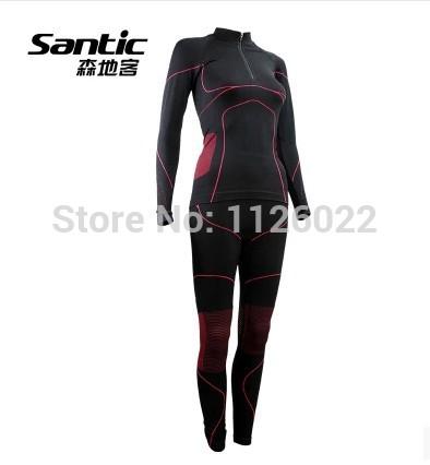 fora o movimento santic cueca apertada ciclismo terno terno respirável ciclismo ternos quente antibacteriana feminino underwear(China (Mainland))