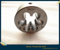 Hot ! new 1pcs high hardness m20 * 2.5 metric left hand die m20 dies threading tools mounted on die holder die wrench