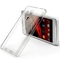 For Sony Xperia SP M35h C5302 C5303 case New High Quality Hard Plastic Crystal Clear Luxury Protective Cover Lily's Shop