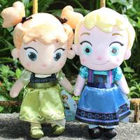Promotion New Arrival Frozen Doll 30cm Childhood Elsa and Anna Plush Dolls Fronzen Toy Brinquedos Dolls For Children