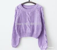 free shipping wholesale 2014 new Korean vintga  Render sweater thickening Long-sleeved sweater coat