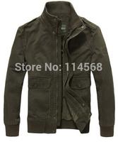 Free shipping 2014 autumn new men's casual fashion wild jacket