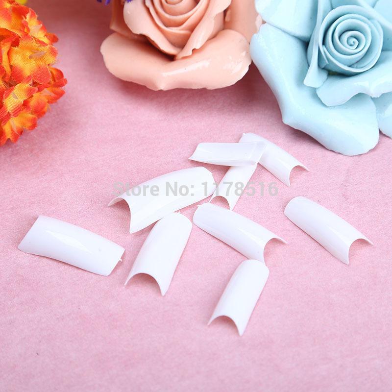 500 pces/embalagem nail art/oval branco falso unhas dicas francês manicure unhas artificiais produtos de beleza(China (Mainland))