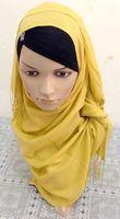 Fashion Muslim long hijab Islamic scarf jersey hijab Multicolored Optional Women Muslim Scarves Islamic hijab 2014 Fashion Hot