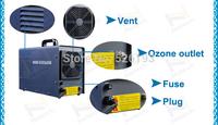 Huge-BT5G ozone generator air purifiers cooled ceramic tube ozone output 5g/hr gerador de ozonio 2B