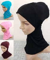 Fashion Cotton Women Muslims Caps Islamic hijab Muslims under ware Hijabs inner cotton Caps 2014 New arrival 12 Colors