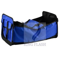 2014 Hot Sales Car Auto trunk foldable Cooler Bags Storage Case Oxford Cloth Red,Blue 5547