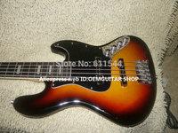 Bass Guitar Sunburst 5 strings Jazz Bass Wholesale Guitars Rosewood Fingerboard Free Shipping