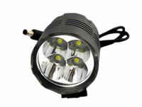 Bicycle Lights 4500Lm 4x CREE XML T6 4500 Lumen LED Bicycle Bike Headlamp Headlight Torch Light