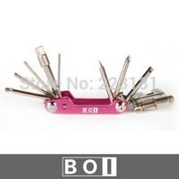 BOI multifunctional bicycle repair tools Bicycle repair tool sets freeshipping