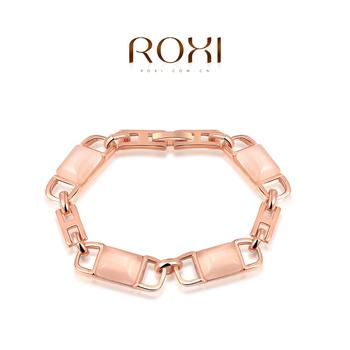 2015 Roxi роскошные мода новое поступление женский браслеты роуз позолоченные ювелирные изделия браслета мода свадебные браслеты бесплатная доставка