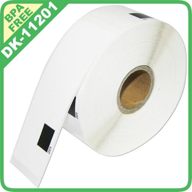 50x RollsBrother Compatible Labels dk-11201 dk 11201 dk 1201 dk 201 dk11201 dk1201 Address Label Thermal paper 29x 90mm Sticker(China (Mainland))