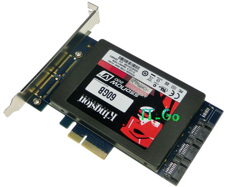 2.5 inch SATA3.0 + 3 port SATA 6Gbps PCI-e Card PCI express SataIII adapter with Raid Function(China (Mainland))