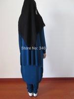 Promotion!!! Autumn Fashion Arabic Abaya,Fashion Three-piece Muslim Prayer Clothing,Girl's Jilbab In Dubai Free Shipping