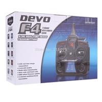 Walkera DEVO F4 2.4G 4CH FPV Transmitter LCD 5.8G Live Video Remote Radio Control