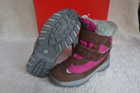 New Arrival Reima Shoes Warm And Waterproof Boots children Slip-Resistant Snow Boots Female Boots Girl Purple Free Shipping