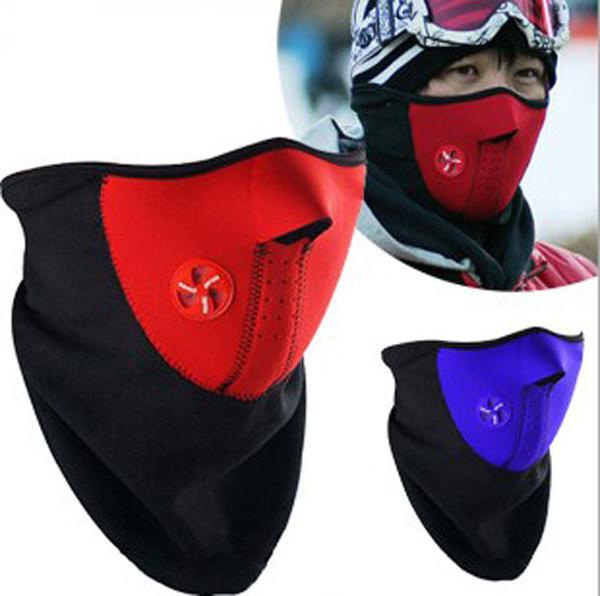 Neoprene Half Face Mask Motorcycle Sport Ride Bike CS Bicycle Cycling Winter Warm Outdoor Ski Snowboard Neck Veil For man/women(China (Mainland))