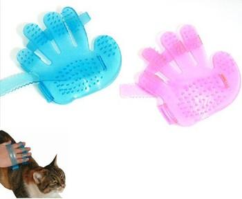 2014 Pet Massage Glove beauty care brush cats generic massage creative design