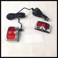 For Cadillac SRX Seville XTS CTS-V LED car projector logo lights for Escalade HYBRID 3D logo door Ghost shadow light Li battery