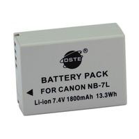 DSTE NB-7L Li-ion Battery Pack for Canon PowerShot G10, G11, G12, SX30 IS Digital Cameras