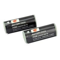 DSTE 2PCS NB-9L Li-ion Battery Pack for Canon PowerShot  IXUS 1000 HS, IXUS 1100 HS, IXUS 500 HS