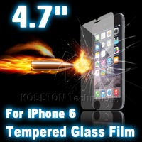 "Ultra Thin 0.3mm Anti Scratch Explosion Proof Tempered Glass Screen Protector Film for Apple iPhone 6 iPhone6 4.7"" in Retail Box"